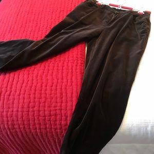 Chocolate velveteen jeans JNY petite